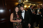 The Parc Hotel 130 years anniversary dinner.<br /> Lisa Hocken &amp; Ciaran Jones<br /> 23.10.14<br /> &copy;Steve Pope-FOTOWALES