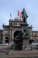 Hauptbahnhof von Zürich, Schweiz