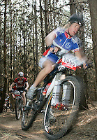 08 APR 2007 - THETFORD, UK - Gunnar Gronlund - 100km - British Mountain Bike Marathon series Round 1. (PHOTO (C) NIGEL FARROW)
