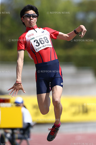 Nozomu Detohata,<br /> MAY 1, 2016 - Athletics :<br /> Japan Para Athletics Championships<br /> Men's Long Jump T37 Final<br /> at Coca Cola West Sports Park, Tottori, Japan.<br /> (Photo by Shingo Ito/AFLO SPORT)