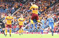 John Sutton winning another aerial battle