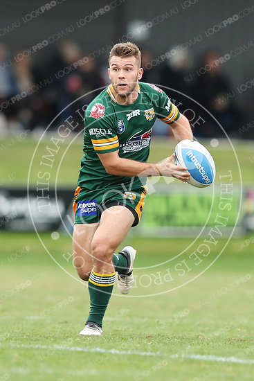 The Wyong Roos play Penrith Panthers in Round 12 of the Intrust Super Premiership at Morry Breen Oval on 2nd June, 2018 in Kanwal, NSW Australia. (Photo by Paul Barkley/LookPro)