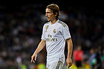 Luka Modric of Real Madrid during La Liga match between Real Madrid and Real Betis Balompie at Santiago Bernabeu Stadium in Madrid, Spain. November 02, 2019. (ALTERPHOTOS/A. Perez Meca)