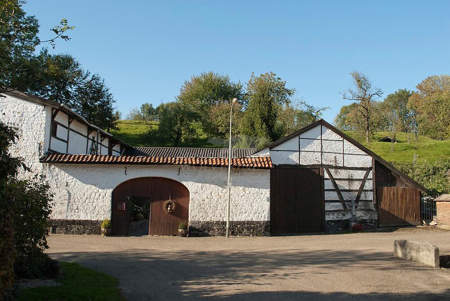 Vakwerk hofboerderij te Simpelveld