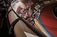 Elia Viviani (ITA/SKY) paced by Iljo Keisse (BEL/Etixx-QuickStep)<br /> <br /> 2016 Gent 6<br /> day 2