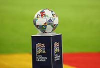 Adidas Spielball der UEFA Nations League - 06.09.2018: Deutschland vs. Frankreich, Allianz Arena München, UEFA Nations League, 1. Spieltag