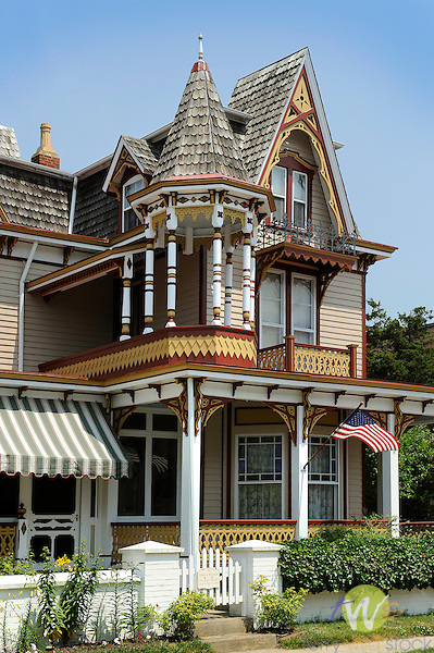 Victorian residence, Cape May, NJ. Dr. Henry L. Hunt house