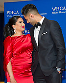 __________ arrives for the 2017 White House Correspondents Association Annual Dinner at the Washington Hilton Hotel on Saturday, April 29, 2017.<br /> Credit: Ron Sachs / CNP