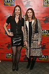 """Tara Westwood and Carole Radziwill attend The Opening Night of the New Broadway Production of  """"Miss Saigon""""  at the Broadway Theatre on March 23, 2017 in New York City"""