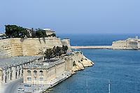 Fischhalle in Valletta, Malta, Europa