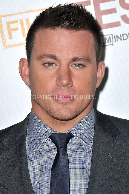WWW.ACEPIXS.COM . . . . .  ..... . . . . US SALES ONLY . . . . .....June 24 2012, LA....Channing Tatum at the Los Angeles Film Festival premiere of 'Magic Mike' held at the Regal Cinema on June 24 2012 in Los Angeles ....Please byline: FAMOUS-ACE PICTURES... . . . .  ....Ace Pictures, Inc:  ..Tel: (212) 243-8787..e-mail: info@acepixs.com..web: http://www.acepixs.com