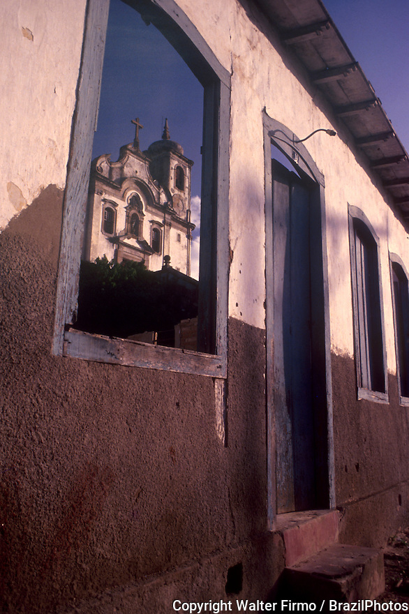 Architecture / Church. City: Ouro Preto, State: Minas Gerais, Brazil.