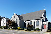 The Canadian Memorial United Church in Vancouver, BC, Canada