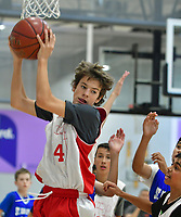 Aaron plays a basketball tournament inside the former Contra Costa Times building in Walnut Creek, CA Sunday Oct. 21 2018. (Photo by Alan Greth /AGP Productions)