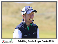 during the Pro-Am of the Irish Open at Ballyliffin Golf Club, Donegal on Wednesday 4th July 2018.<br /> Picture:  Thos Caffrey / Golffile