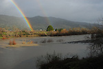 Russian River and rainbow