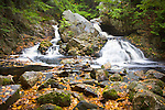 Bears Den Falls on the Swift River, near the Quabbin Reserve, in New Salem, MA -- CAPTION MUST INCLUDE - A PROPERTY OF THE TRUSTEES OF RESERVATIONS