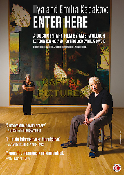 DVD COVER ART<br /> in Ilya and Emilia Kabakov: Enter Here (2013) <br /> *Filmstill - Editorial Use Only*<br /> CAP/FB<br /> Image supplied by Capital Pictures