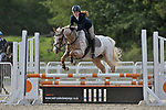 Class 2. Discovery. British Showjumping juniors. Brook Farm Training Centre. Essex. 20/04/2017. MANDATORY Credit Garry Bowden/Sportinpictures - NO UNAUTHORISED USE - 07837 394578