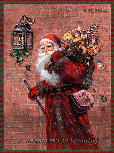 GIORDANO, CHRISTMAS SANTA, SNOWMAN, WEIHNACHTSMÄNNER, SCHNEEMÄNNER, PAPÁ NOEL, MUÑECOS DE NIEVE, nostalgic, paintings+++++,USGI2664M,#X# nostalgic,vintage