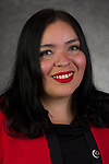 Monica Haydee Ramos, Coordinator, Latinx Cultural Center, Office of Multicultural Student Success, Multicultural Student Success, DePaul University, is pictured Feb. 26, 2019. (DePaul University/Jeff Carrion)