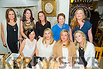 Friends Reunion from Presentation out in Bella Bia's on Friday. Pictured l-r Siobhan Flahive, Michelle Walsh, Clare Leen, Audrey Wallace. Back l-r karen Walsh, Roisin Couchman, Kay O'Leary, Helen Slattery, Sinead Summers