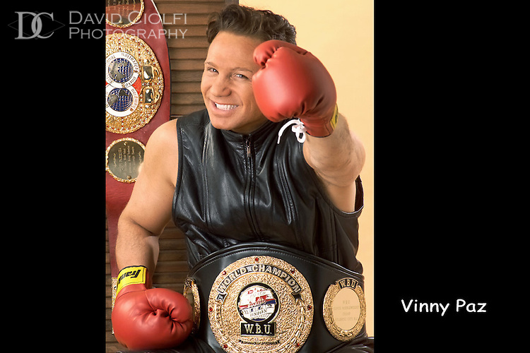 Vinny Pazienza Photo by David Ciolfi
