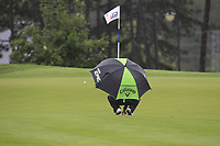 Haydn Porteous (RSA) on the 2nd green during Round 2 of the D+D Real Czech Masters at the Albatross Golf Resort, Prague, Czech Rep. 01/09/2017<br /> Picture: Golffile | Thos Caffrey<br /> <br /> <br /> All photo usage must carry mandatory copyright credit     (&copy; Golffile | Thos Caffrey)