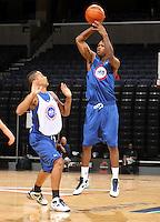 Adjehi Baru at the NBPA Top100 camp June 18, 2010 at the John Paul Jones Arena in Charlottesville, VA. Visit www.nbpatop100.blogspot.com for more photos. (Photo © Andrew Shurtleff)
