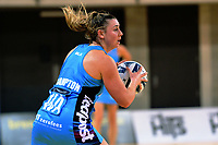 Gina Crampton in action during the ANZ Premiership netball match between the Central Pulse and Northern Stars at Te Rauparaha Arena in Wellington, New Zealand on Wednesday, 24 May 2017. Photo: Dave Lintott / lintottphoto.co.nz