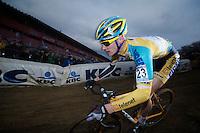 Corne Van Kessel (BEL)<br /> <br /> UCI Worldcup Heusden-Zolder Limburg 2013