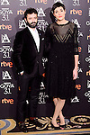 Rodrigo Sorogoyen and Isabel Pena attends to the 2017 Goya Awards Candidates Cocktail at Ritz Hotel in Madrid, Spain. January 12, 2017. (ALTERPHOTOS/BorjaB.Hojas)