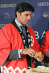 Spanish bullfigther Francisco Rivera attends the 55th Gran Seiko Premium Collection anniversary.June 18,2015. (ALTERPHOTOS/Acero)