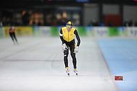 SCHAATSEN: GRONINGEN: 28-10-2016, Sportcentrum Kardinge, KNSB Cup Kwalificatiewedstrijden, Patrick Roest, ©foto Martin de Jong