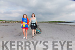 Pictured at the Beach Clean up on Friday evening at the White Strand, Cahersiveen were l-r; Holly Boyd & Joan O'Donoghue.