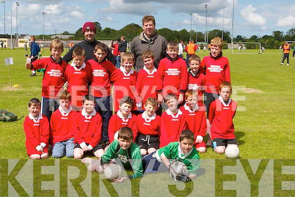 6403- 6406.REPRESENTED: The Camp teams who were well represented at Dynamos 7 a-side Soccer Blitz at Mounthawk, Tralee, on Sunday. Front l-r: Paddy McCarthy and Alan Falvey. Middle l-r: Dara Butler, Anthony Landers, Brian Kennedy, David O'Brien, Conor O'Brien, Brian McKenna, Cian Campion and Gary Fitzgerald. Back l-r: Cian Kennedy, Eoin Curry, Daniel Flannery, Jack Ferriter, Tomas Butler, Timmy O'Brien, John Joe Landers and Colm Kelly, with Mark Deely and Barry O'Brien (Coaches)...Contact Noel at 0879813375.