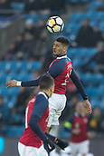 23rd March 2018, Ullevaal Stadion, Oslo, Norway; International Football Friendly, Norway versus Australia; Bjorn Maars Johnsen of Norway heads the ball away