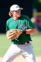 July 16, 2009:  Third Baseman Jack Walker of the Vermont Lake Monsters during a game at Russell Diethrick Park in Jamestown Jammers, NY.  The Lake Monsters are the NY-Penn League Short-Season Class-A affiliate of the Washington Nationals.  Photo By Mike Janes/Four Seam Images