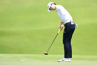 SINGAPORE - MARCH 03: Sung Hyun Park of South Korea on the 18th green during the final round of the HSBC Women's World Championship 2019 at Sentosa Golf Club - Tanjong Course, Singapore on March 03, 2019.<br /> .<br /> .<br /> .<br /> (Photo by: Naratip Golf Srisupab/SEALs Sports Images)<br /> .<br /> Any image use must include a mandatory credit line adjacent to the content which should read: Naratip Golf Srisupab/SEALs Sports Images