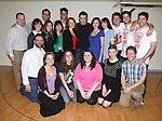 The Company of 'Heathers The Musical' on February 19, 2014 at The Snapple Theatre Center in New York City.
