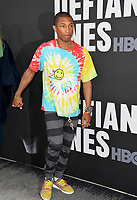 Pharrell Williams at the premiere for the HBO documentary series &quot;The Defiant Ones&quot; at the Paramount Theatre. Los Angeles, USA 22 June  2017<br /> Picture: Paul Smith/Featureflash/SilverHub 0208 004 5359 sales@silverhubmedia.com