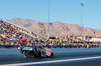 Nov 2, 2019; Las Vegas, NV, USA; NHRA funny car driver Shawn Langdon during qualifying for the Dodge Nationals at The Strip at Las Vegas Motor Speedway. Mandatory Credit: Mark J. Rebilas-USA TODAY Sports