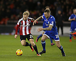Mark Duffy of Sheffield Utd during the English League One match at Bramall Lane Stadium, Sheffield. Picture date: December 26th, 2016. Pic Simon Bellis/Sportimage