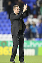 Stevenage manager Graham Westley celebrates victory.Reading v Stevenage - FA Cup 3rd Round - Madejski Stadium,.Reading - 7th January, 2012.© Kevin Coleman 2012