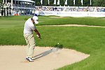 Pablo Larrazabal takes his 2nd shot from the fairway bunker on the 18th hole on Day 3 of The BMW International Open Munich at Eichenried Golf Club, 26th June 2010 (Photo by Eoin Clarke/GOLFFILE).