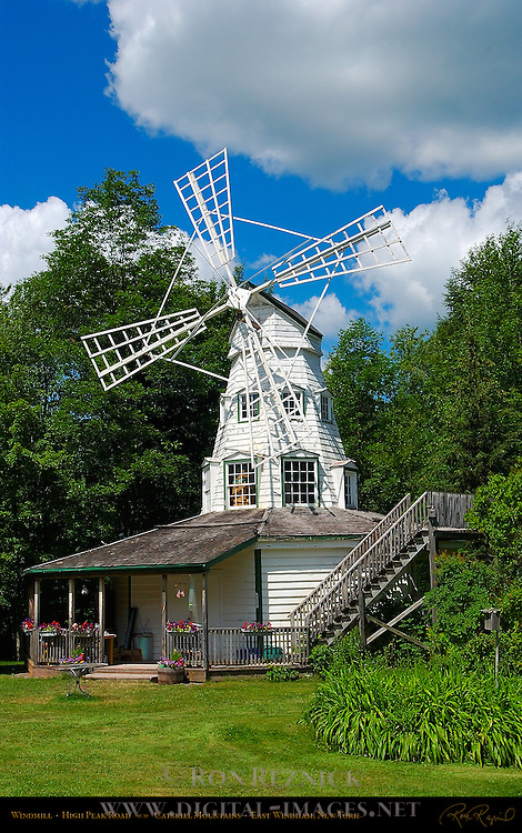 Windmill, High Peak Road, Catskill Mountains, East Windham, New York
