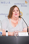 Actress Itziar Castro during the press conference of the film 'Matar a Dios' at Sitges Film Festival in Barcelona, Spain October 12, 2017. (ALTERPHOTOS/Borja B.Hojas)