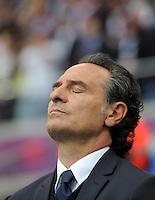 FUSSBALL  EUROPAMEISTERSCHAFT 2012   VORRUNDE Italien - Kroatien                    14.06.2012 Trainer Cesare Prandelli (Italien)