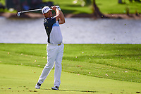 Padraig Harrington (IRL) watches his approach shot on 9  during round 2 of the Honda Classic, PGA National, Palm Beach Gardens, West Palm Beach, Florida, USA. 2/24/2017.<br /> Picture: Golffile | Ken Murray<br /> <br /> <br /> All photo usage must carry mandatory copyright credit (&copy; Golffile | Ken Murray)