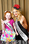 Manchester Rose Marie McDermott pictured with her Rosebud Abbie Sheehan at the Carlton Hotel at the Rose of Tralee on Friday.